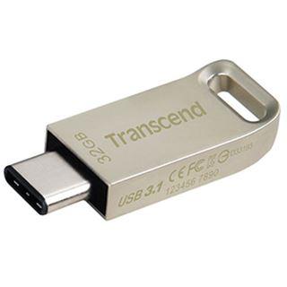 32 GB Transcend JetFlash 850 gold USB 3.1 Typ-C