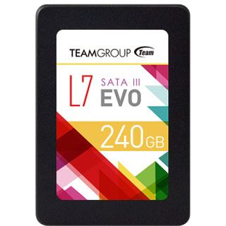"""240GB TeamGroup L7 EVO 2.5"""" (6.4cm) SATA 6Gb/s TLC Toggle (T253L7240GTC101)"""