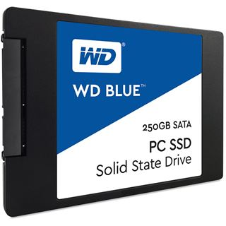 "250GB WD Blue 2.5"" (6.4cm) SATA 6Gb/s TLC Toggle (WDS250G1B0A)"