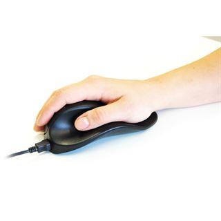 BakkerElkhuizen Handshoemouse rechts klein USB schwarz (kabelgebunden)