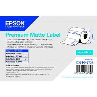Epson PREMIUM MATTE LABEL