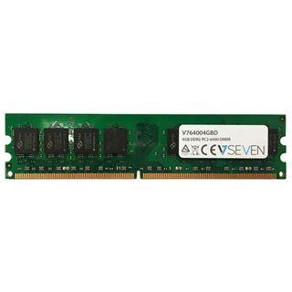 4GB V7 V764004GBD DDR2-800 DIMM CL5 Single