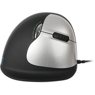 R-GO Tools Break HE M/L USB schwarz/silber (kabelgebunden)