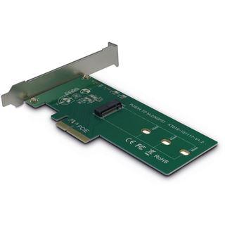 Inter-Tech AC Adapter KT016, PCIe x4 zu M.2 PCIe