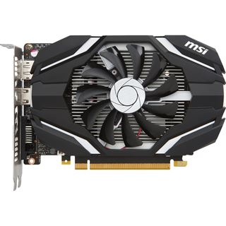 4GB MSI GeForce GTX 1050 Ti 4G OC Aktiv PCIe 3.0 x16 (Retail)