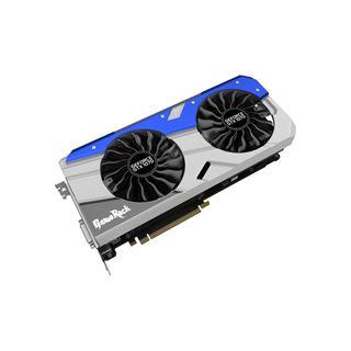 8GB Palit GeForce GTX 1070 GameRock+ Aktiv PCIe 3.0 x16 (Retail)