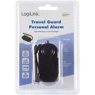 Logilink Reise Personal mini Alarm Infrarot Bewegungs Sensor