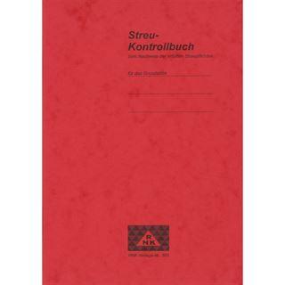 "RNK Verlag Formularbuch ""Streu-Kontrollbuch"", DIN A5"