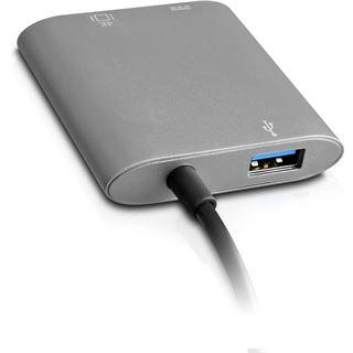 V7 USB-C TO HDMI HUB GREY ALUMINU