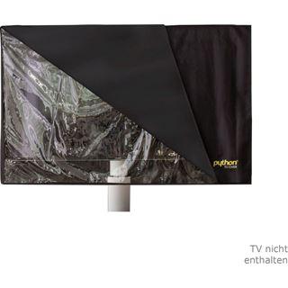 """Python Series TV-Cover Indoor/Outdoor – wetterfester Universalschutz für Ihr TV oder Monitor, 147x92 cm, 60"""" bis 65"""" Zoll"""