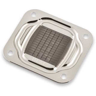 Aqua Computer Cuplex Kryos NEXT VISION Intel Acryl / Kupfer (vernickelt) CPU Kühler