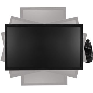 Arctic Cooling W1-3D Wall-Mount Monitor Arm with complete 3D movement