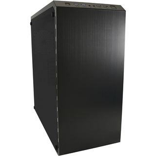 LC-Power 986B Dark Shadow mit Sichtfenster Midi Tower ohne Netzteil schwarz