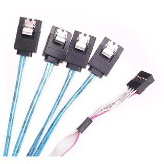 Silverstone SST-CPS05-RE, SAS-HD Kabel, 12 Gb/s