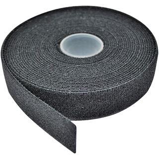 Lindy Klettband Doppelseitig 5m schwarz mit Klettvorder Flauschrücks.
