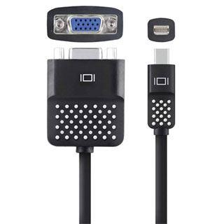 Belkin Displayport Adapter Mini Displayport Stecker auf VGA 15pol Buchse Schwarz