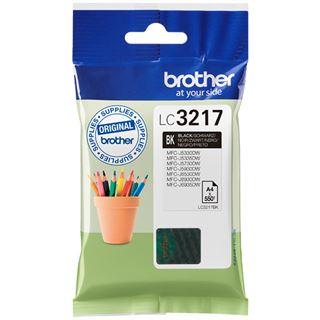 Brother Tinte LC3217BK LC3217BK schwarz
