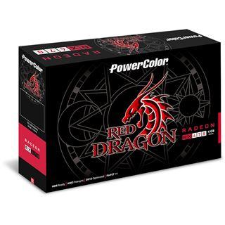 4GB PowerColor Radeon RX 470 Red Dragon Single Fan Aktiv PCIe 3.0 x16 (Retail)