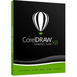 Corel CorelDraw Graphics Suite X8 - Small Business Edition 32 Bit Deutsch Grafik Vollversion 3 User PC (DVD)