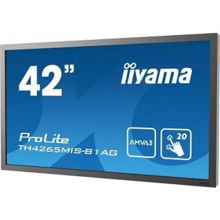 "42"" (106,68cm) iiyama ProLite LH4265MIS-B1AG Touch schwarz 1920x1080 3xHDMI / 1xKomponenten (BNC) / 1xVGA"