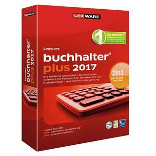 Lexware Buchhalter Plus 2017 32 Bit Deutsch Buchhaltungssoftware Lizenz 1-Jahr PC (CD)