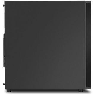Sharkoon M25-V Midi Tower ohne Netzteil schwarz