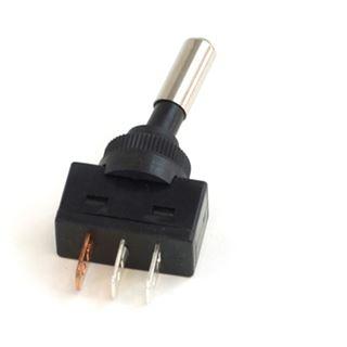 Phobya Kippschalter LED rot - 1-polig AN/AUS schwarz (3pin)