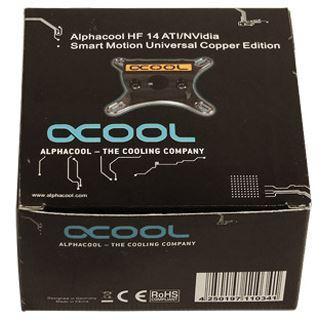 Alphacool GPU HF 14 ATI/NVidia Smart Motion Universal Copper Edition