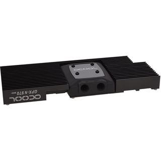 Alphacool NexXxoS GPX - Nvidia Geforce GTX 970 M02 - mit Backplate - Schwarz