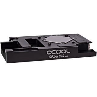 Alphacool NexXxoS GPX - Nvidia Geforce GTX 970 M16 - mit Backplate - Schwarz