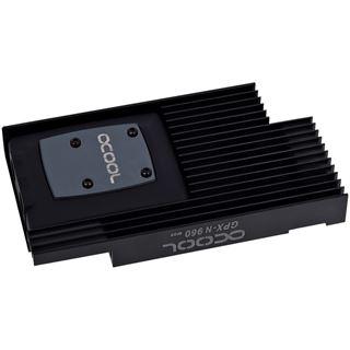 Alphacool NexXxoS GPX - Nvidia Geforce GTX 960 M09 - mit Backplate - Schwarz