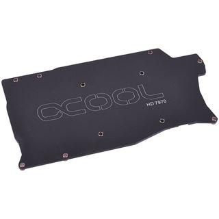Alphacool Backplate für ATXP ATI 7970/50 - Schwarz