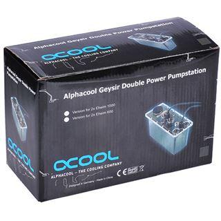Alphacool Geysir Double Power Pumpstation (für 2x Eheim 600 Pumpen)