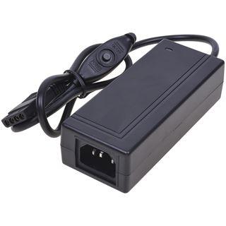 Phobya Externes Netzteil mit Schalter 230V auf 4Pin Molex 90 Watt inkl. Euro/UK Stecker