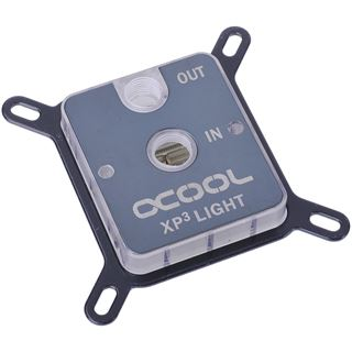 AlphaCool NexXxoS XP³ Light Acryl / Nickel CPU Kühler