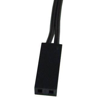Phobya 2pin-Kabel Verlängerung Buchse/Stecker - 30cm