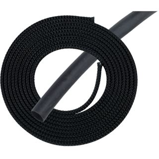 "Phobya Simple Sleeve Kit 6mm (1/4"") Schwarz 2m incl. Heatshrink 30cm"