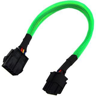 Phobya Verlängerung 8-Pin oder EPS12V 30cm - UV Grün