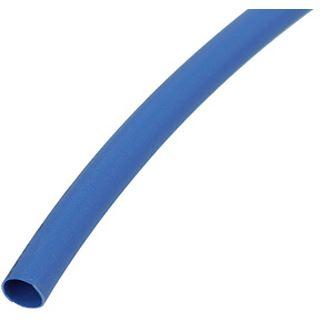"""Phobya Simple Sleeve Kit 3mm (1/8"""") UV-Blau 2m incl. Heatshrink 30cm"""