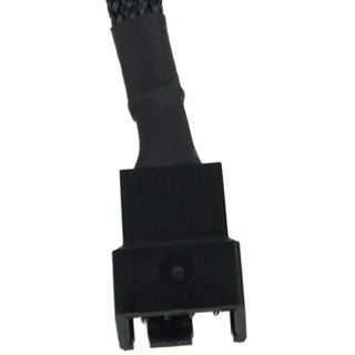 Phobya 4Pin PWM Verlängerung 30cm - Schwarz