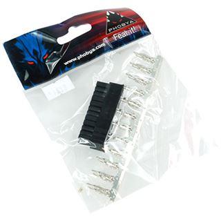 Phobya ATX Power Connector 24Pin Stecker inkl. 24 Pins - Black