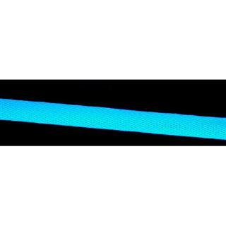 """Phobya Simple Sleeve Kit 6mm (1/4"""") UV-Blau 2m incl. Heatshrink 30cm"""