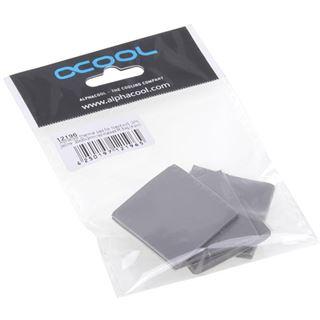 Alphacool Wärmeleitpad für NexXxoS GPX 3W/mk 30x30x3mm yellow marked PE Bag (4 Stück)