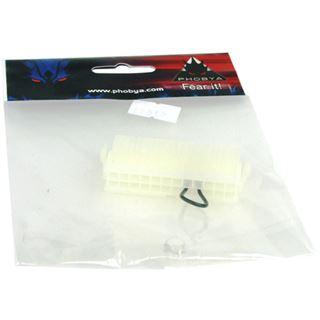 Phobya ATX-Überbrückungsstecker (24 Pin) - Weiß