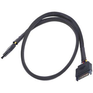 Phobya SATA Strom Verlängerung intern 60cm - schwarz