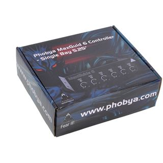 "Phobya MaxGuide 6 Controller - Single Bay 5,25"""