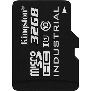 32 GB Kingston Industrial Temperature microSDHC Class 10 U1 Retail
