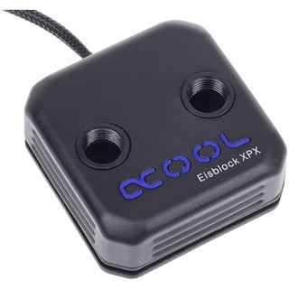 AlphaCool Eisblock XPX CPU schwarz Acetal / Aluminium CPU Kühler