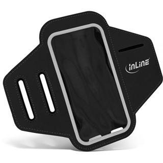 InLine Sport Armband mit Smartphone-Tasche, schwarz