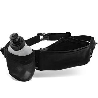InLine Sport Gürteltasche Hydratic mit Trinkflasche, stretch, Tallienumfang 70-125cm schwarz